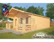Log Cabin Hornby 5m x 7m 002