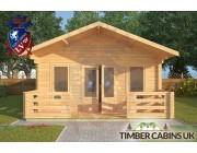 Log Cabin Hornby 5m x 7m 003