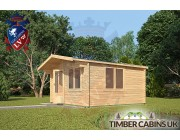 Log Cabin Huntingdonshire 4m x 4m 002