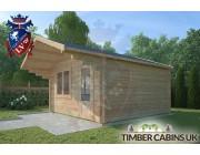 Log Cabin Hurst Green 4m x 4m 002