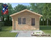 Log Cabin Hurst Green 4m x 4m 003