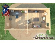 Log Cabin Kingston-upon-Hull 7m x 3.5m 006