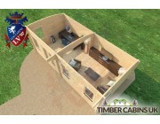 Log Cabin Kingston-upon-Hull 7m x 3.5m 005