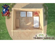 Log Cabin Kirklees 4m x 3m 006
