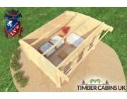 Log Cabin Kirklees 4m x 3m 005