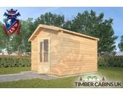 Log Cabin Lancaster 3m x 3m 002