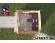 Log Cabin Lancaster 3m x 3m 004