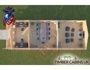 Log Cabin Lancaster 5m x 13m 004