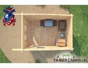 Log Cabin Leeds 2.5m x 3.5m 006