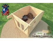 Log Cabin Leeds 2.5m x 3.5m 005