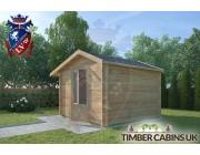 Log Cabin Leigh 3m x 3m 002