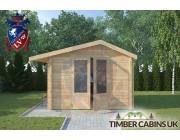 Log Cabin Leigh 3m x 3m 003