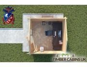 Log Cabin Leigh 3m x 3m 004
