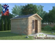 Log Cabin Leyland 3m x 3.5m 001