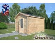 Log Cabin Leyland 3m x 3.5m 002