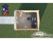 Log Cabin Leyland 3m x 3.5m 004