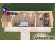 Log Cabin Leyland 9m x 3m 004