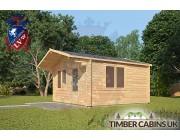 Log Cabin Lincolnshire 4m x 5m 002