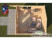 Log Cabin Lincolnshire 4m x 5m 004