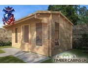 Log Cabin Lisburn 4.75m x 2.95m 002