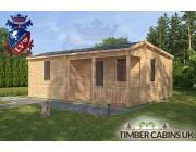 Log Cabin Lisburn 7.6m x 6m 002