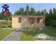 Log Cabin Lisburn 7.6m x 6m 003