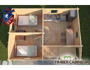 Log Cabin Lisburn 7.6m x 6m 004