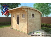 Log Cabin Liverpool 3.5m x 2.5m 002