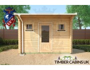 Log Cabin Liverpool 3.5m x 2.5m 004