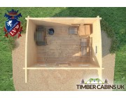 Log Cabin Liverpool 3.5m x 2.5m 006