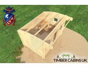 Log Cabin Liverpool 3.5m x 2.5m 005