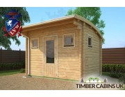 Log Cabin Liverpool 3.5m x 2.5m 003