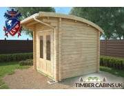 Log Cabin London 2.5m x 2.5m 002