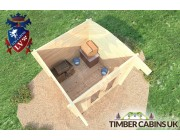 Log Cabin London 2.5m x 2.5m 004