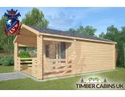 Log Cabin Longridge 4m x 4m 002