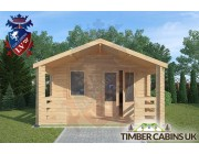 Log Cabin Longridge 4m x 4m 003