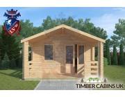 Log Cabin Longridge 4m x 4m 003