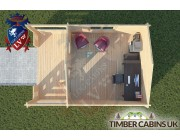Log Cabin Longridge 4m x 4m 004