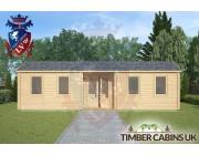 Log Cabin Longton 9m x 3m 003