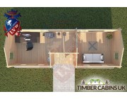 Log Cabin Longton 9m x 3m 004