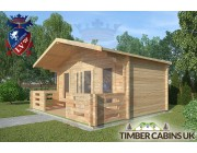 Log Cabin Lune Valley 5m x 3m 002
