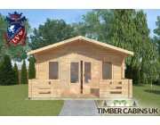 Log Cabin Lune Valley 5m x 3m 003