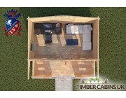 Log Cabin Lune Valley 5m x 3m 004