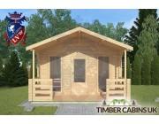 Log Cabin Lytham 4m x 3m 003