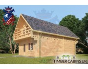 Log Cabin Macclesfield 5.5m x 8.5m 002