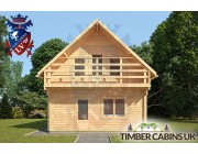 Log Cabin Macclesfield 5.5m x 8.5m 003