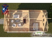 Log Cabin Macclesfield 5.5m x 8.5m 005