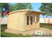 Log Cabin Manchester 3.5m x 3.5m 001