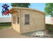 Log Cabin Manchester 3.5m x 3.5m 002