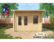 Log Cabin Manchester 3.5m x 3.5m 004